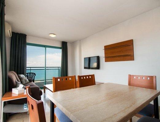 Salon de l'appartement 2/4 Appartements Magic Atrium Beach