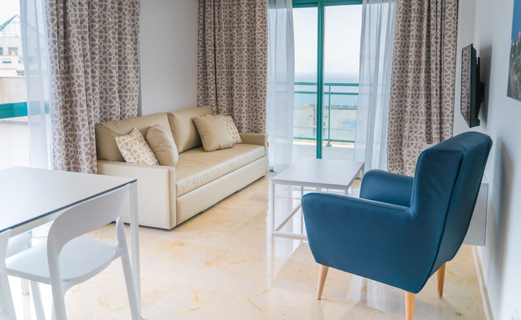 Penthouse avec vue mer 2/4 personnes appartements magic atrium beach benidorm